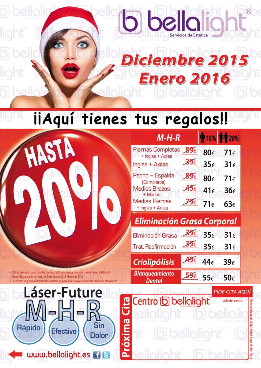 Bellalight Cuartilla Oferta Navidad 2015 Tratamientos